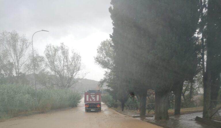 Corropoli, strada allagata: chiuso un tratto della 259