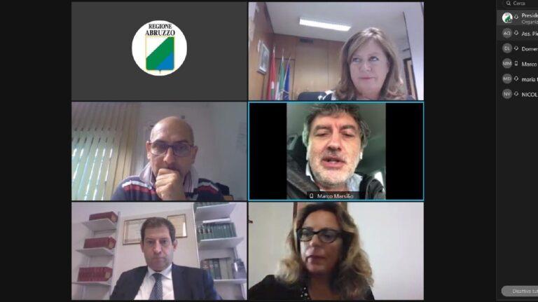"""""""Fidatevi delle istituzioni"""": Marsilio incontra il comitato #nogreenpass"""