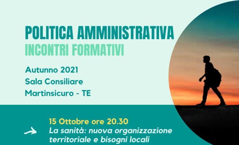 Martinsicuro, ciclo di incontri formativi delle forze progressiste. Si parte con la sanità