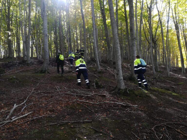 Persona dispersa al Ceppo: l'esercitazione dei vigili del fuoco (e non solo) FOTO