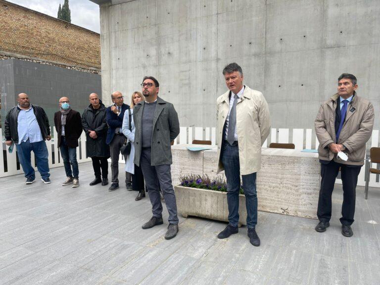 Teramo, al via i lavori ai padiglioni terremotati nel cimitero di Cartecchio VIDEO