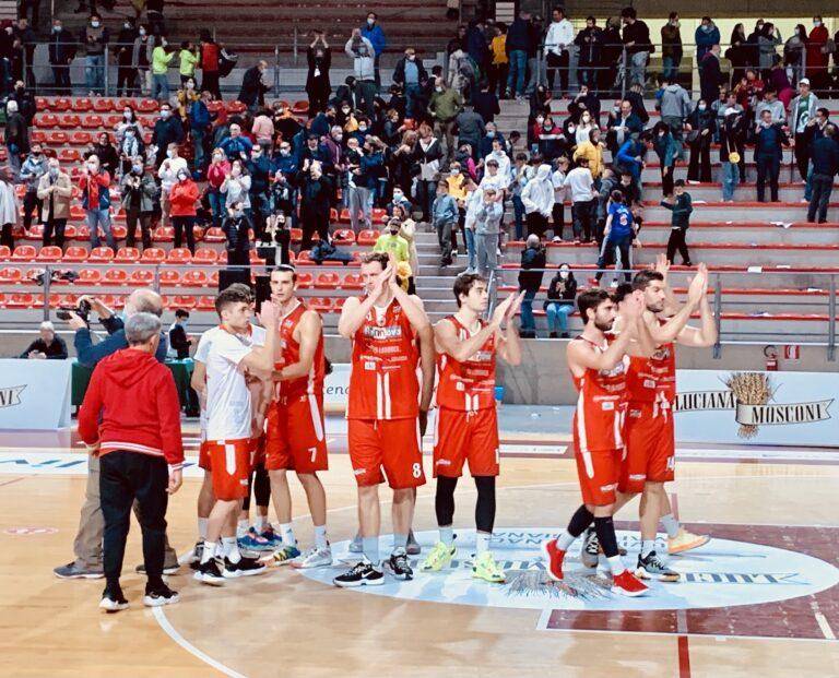 Basket Serie B, Rennova Teramo torna a mani vuote da Ancona