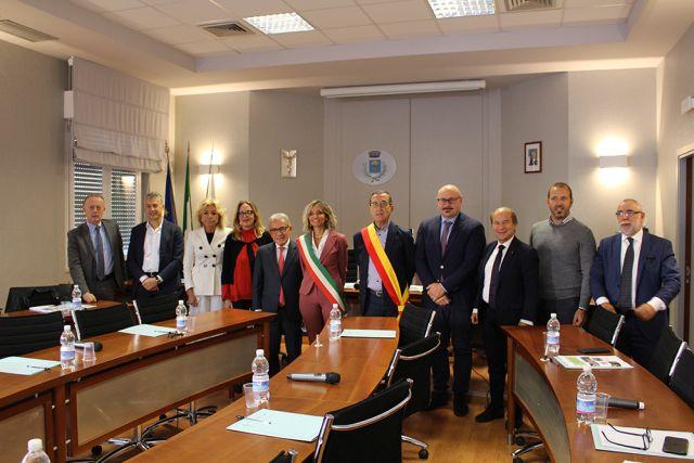 Il Comune di San Salvo ha ospitato la giunta esecutiva della Camera di Commercio Ch-Pe