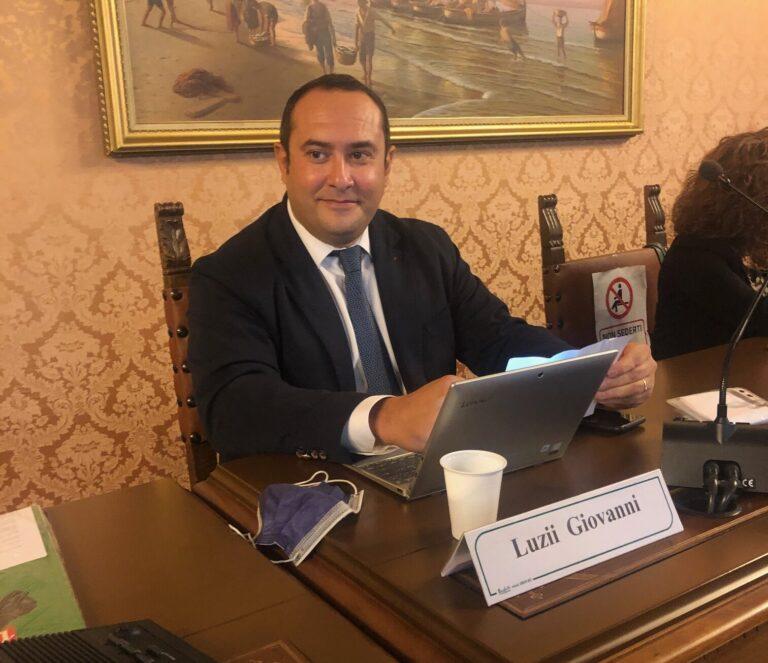 Provincia di Teramo: Giovanni Luzii si è insediato in Consiglio