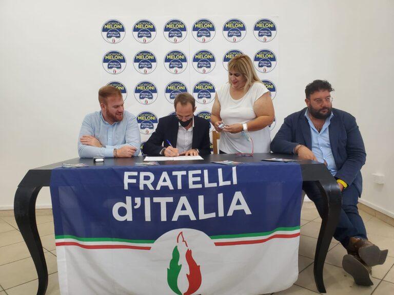 Morro d'Oro, il consigliere Intellini aderisce a Fratelli d'Italia