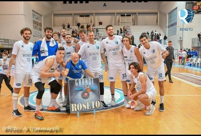 Basket, la Liofilchem Roseto ritrova il suo pubblico strapazzando Imola