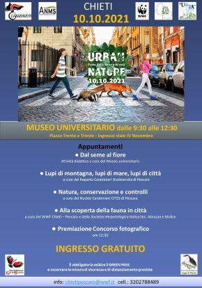 Chieti, appuntamento con 'Urban Nature' al Museo universitario