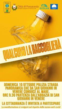 Fossacesia celebra la 29esima edizione di 'Puliamo il mondo'