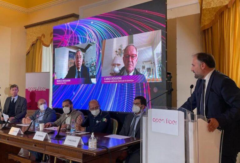Prevenzione sismica: strategico il progetto 'Meglio' che sfrutta fibra ottica