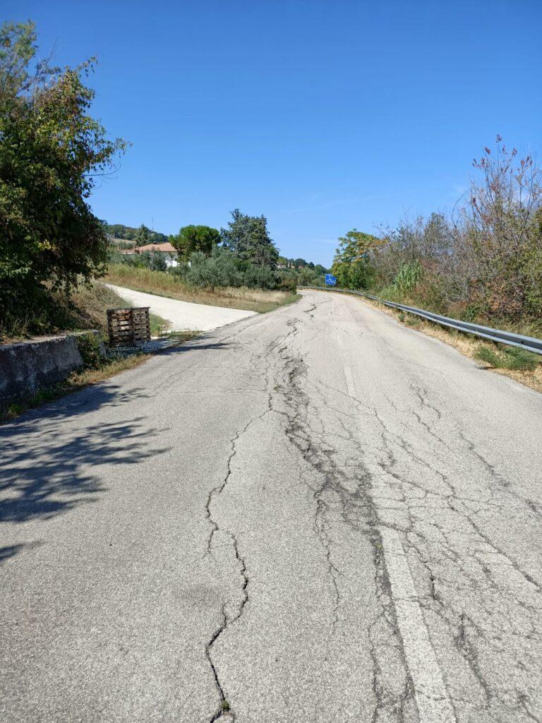 Tortoreto, via Panoramica: serve intervento anti-smottamento anche nel tratto ovest
