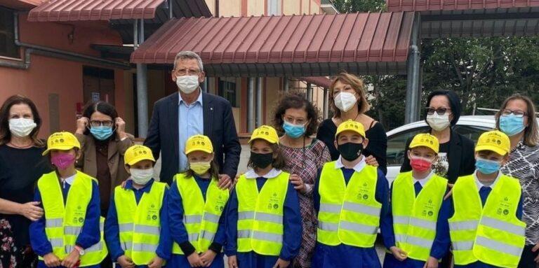 Pescara, ripartito il Pedibus per le scuole elementari