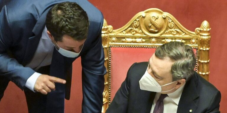 Fisco: è scontro Draghi-Salvini sulla riforma del catasto