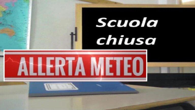 Maltempo, scuole chiuse a Mosciano e Bellante