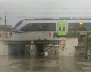 Giulianova colpita dal maltempo: il Lido allagato e parzialmente bloccato FOTO/VIDEO