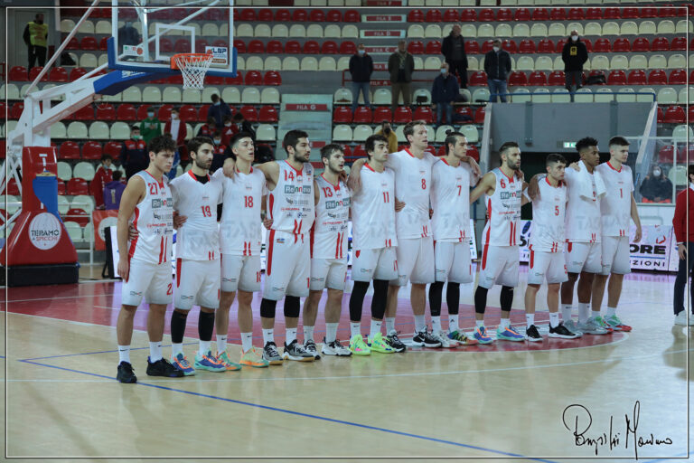 Basket, Serie B: seconda sconfitta per la Rennova Teramo